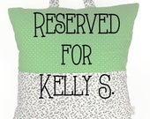 RESERVED for Kelly S. // Kids Reading Cushion // Reading Pillow // Pocket Pillow // Camping Pillow // Pillow Tote - Music