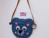 Bear bag for Blythe and Pullip Dolls
