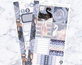 PRE-SALE! Swan Lake Bitty Kit (Glam Planner Stickers for Erin Condren Life Planner)