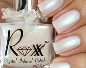 Moonstone Polish - Guidance - Crystal Infused Nail Polish - Vegan Polish - Non Toxic - Crystal Energy