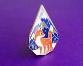 Fox Terrarium Pin