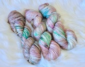 I AM GROOT Hand Dyed Fingering Weight Yarn for Knitting and Crochet