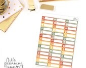 Sweater Weather Assorted Label Planner Stickers