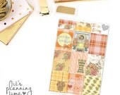 Sweater Weather Decorative Full Box Planner Stickers