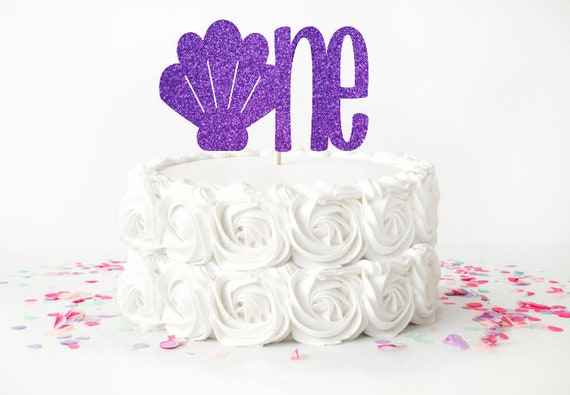 Seashell Cake Topper 1st Birthday Beach Under The Sea One