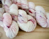 Raspberry Cordial (Anne of Green Gables Inspired) - Hand Dyed Fingering Weight Yarn