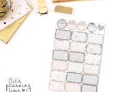 Forever and Always Half Box Planner Stickers
