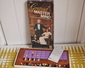 Vintage Grand Mastermind Game. Retro board game