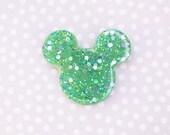 Mickey Mouse Brooch - Mermaid Green Mickey Brooch