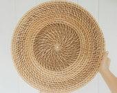 Large Basket Bowl - Modern Bohemian Minimalist - Wall Basket