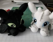 Night Fury and/or Light Fury Dragon (Made To Order)