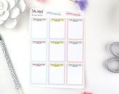 Today was a Good Day Because Planner Stickers   Reflection Planner Stickers