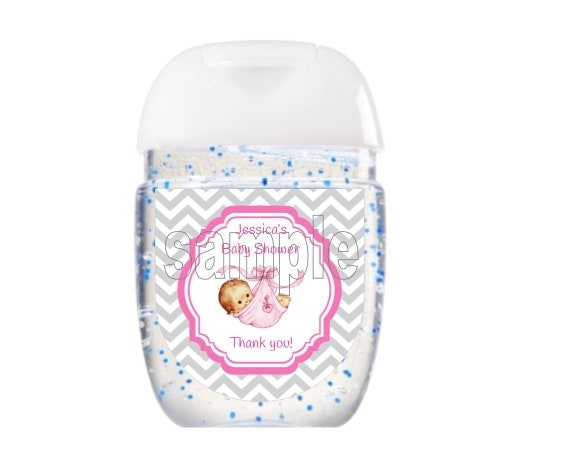 Hand Sanitizer Labels Bath Body Works New Design Baby Shower