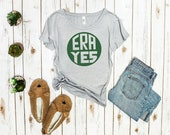 "Feminist Shirt Women: ""ERA Yes,"" Equal Rights Feminist shirt | Fourth Wave feminist apparel, (XS-4XL) plus sizes, Feminist gift | Feminism"