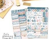 Shine 2 Page Planner Sticker Kit