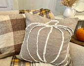 Pumpkin Pillow (insert not included)