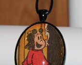 Little Lulu Pendant Necklace Tubby Cartoon