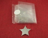 """Clearance - 1 1/4"""" x 1 1/4"""" 5 Point Star Badge Aluminum Stamping Blanks, 14 Ga Thick, 1100 Aluminum, 10 Pieces"""