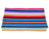 Burp Cloth - Drool Pad - Burping Pad - Serape Print Fiesta Style - Mexican Style Baby Gift - Baby Shower Gift