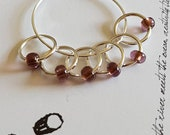 Worsted Small Knitting Stitch Markers | Snag Free Stitch Markers | Snagless Stitch Markers | Warmth
