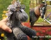 RUSH Custom Knit Pony