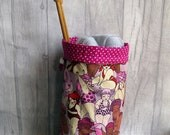 Pre-order Tits Out Collective Knitting Project Bag, Beach Babes in pink,  Sock Project Bag, Crochet Project Bag, Drawstring bag, Dice Bag