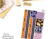 Halloween Decorative Washi Planner Stickers