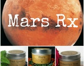 MARS RetroFIX Limited Edition Intention Candle Kit - 4oz. Travel Tins including Mars, Road Opener and Romantic Rose