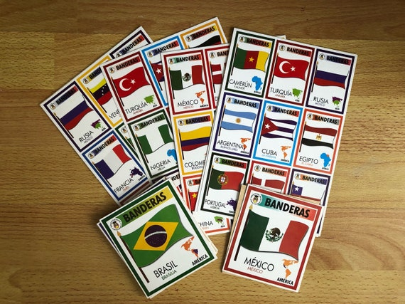 Spanish world flags teaching learning material loteria bingo game by il570xn m4hsunfo