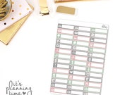 Forever and Always Assorted Label Planner Stickers