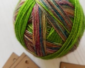LISTING FOR CLAIRE.Herbology Class,self striping sock yarn.