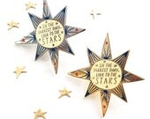 Limited Edition Celestial Bodies 'Darkest Dark' Enamel Pin Badge
