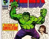 The Incredible Hulk #116 (1st Series 1962-1999) June1969  Marvel Comics  Grade NM