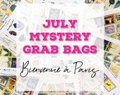 July 2018 MYSTERY GRAB BAGS | Planner Stickers | Mini Stickers | Stationery Goodies | Fantastic Value!