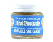 Hot Pretzel Stand Scented Adorable Size Candle® by Dio Candle Company (1 ounce | Burns 11-15 hours)