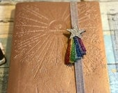 Rainbow Star, Planner Band, Rainbow, Shooting Star, Rainbow Bookmark, Glitter Pen Loop, Gift for Her, Gift for Mum, Birthday Gift