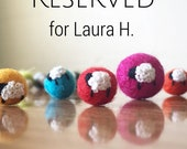 RESERVED - Laura Holm