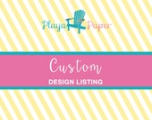 Custom Listing for Patti, SUV Birthday Card, Personalized Birthday Card