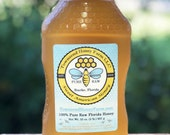 Raw Honey, Orange Blossom Honey, Pure Honey, Raw Honey, Honey from Beekeeper, Florida USA Honey, Natural Honey, Florida Orange Blossom