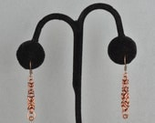 CLOSEOUT Byzantine Taper Earrings - Antique Copper