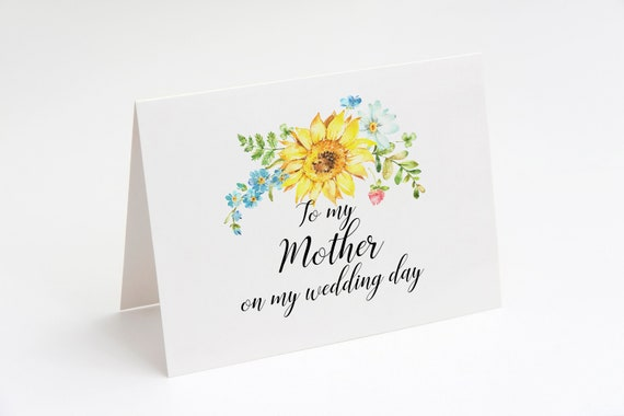 Mother of the bride card wedding card for mother rustic wedding il570xn m4hsunfo