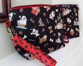 Dogs and Dog Houses  Large Project Bag