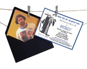 Custom Star Wars Invitations - 40 Pieces