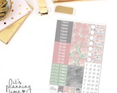Forever and Always Add-On Headers, Pattern Headers, and Date Cover Planner Stickers