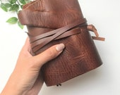 Pocket Size Notebook Cover | Planner Cover | Leather Journal | Travelers Journal | Travel Journal | Travellers Journal | Fauxdori | UK