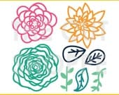 The Flower Arrangement cut file can be used for your scrapbooking and papercrafting projects.