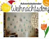 """Adventskalender E-Book """"Weihnachtsdorf"""""""