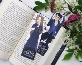 Rhysand & Feyre - bookmarks - ACOTAR || to the stars who, acomaf, acofas, night court, mist and fury, high lady, maas, high lord