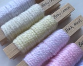 Set of 9 yarn pegs - Stylecraft Special for Babies