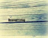 Reserved listing for Brenda Lietz